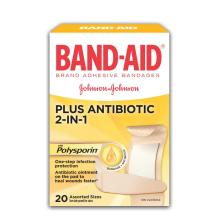 BAND-AID Bandages with Polysporin