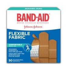 BAND-AID Box of Flexible Fabric Adhesive Bandages