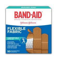 BAND-AID Box of Flexible Fabric Adhesive Bandages