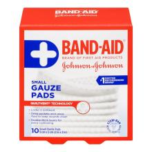 BAND-AID Gauze Pads Small Size