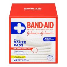 BAND-AID Sterile Gauze Pads Small Size