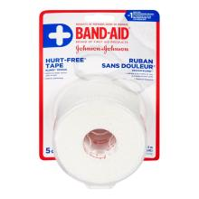BAND-AID Hurt Free Tape Roll for Wounds and Cuts