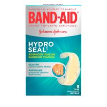 BAND-AID Hydro Seal Blister Cushion Bandages for Toes and Fingers