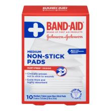 BAND-AID Hurt Free Medium Non-Stick Pads
