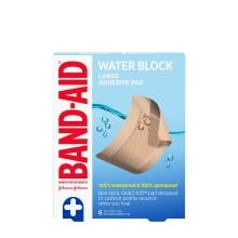 Band-Aid water block large adhesive pads