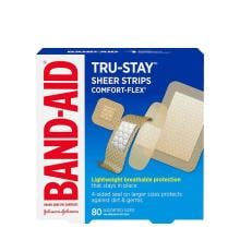Band-Aid Tru Stay lightweight breathable bandage pack