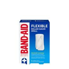 Band-Aid flexible gauze sterile roll pack