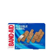 Band-Aid flexible fabric bandages 80 assorted sizes box