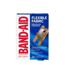 Band-Aid flexible fabric knuckle and fingertip bandage pack