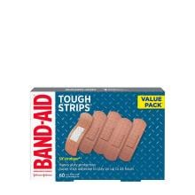 Band-Aid tough strips value pack of 60 bandages