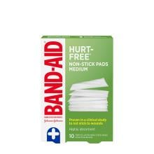 Band-Aid non stick medium pads pack of 10