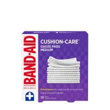 Band-Aid medium gauze pads pack of 10