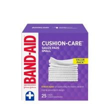 Band-Aid small value pack of 25 gauze pads