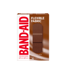 Band-Aid Flexible Fabric Bandages, 30 Assorted Sizes box, BR55