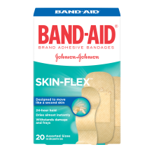 Skin Flex Twenty Assorted Bandages Product Box by Bandaid