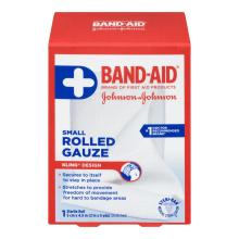 BAND-AID Rolled Gauze Small Roll