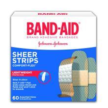 BAND-AID Comfort Flex Adhesive Plastic Bandages