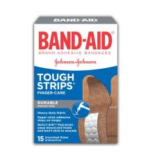 BAND-AID Tough Strips Heavy Duty Finger Bandages