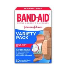 BAND-AID Variety Pack Box of Assorted Bandages