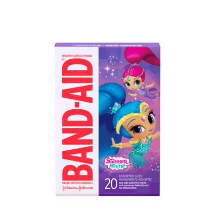 Nickelodeon Shimmer and Shine BAND-AIDs