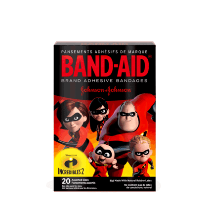 Disney Incredibles 2 BAND-AIDs for Kids