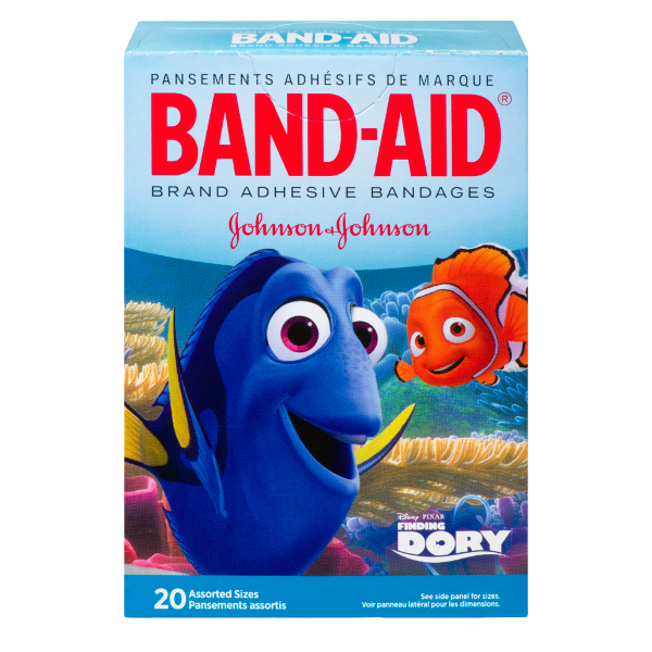 Disney Finding Dory Adhesive Bandages by Band-Aid