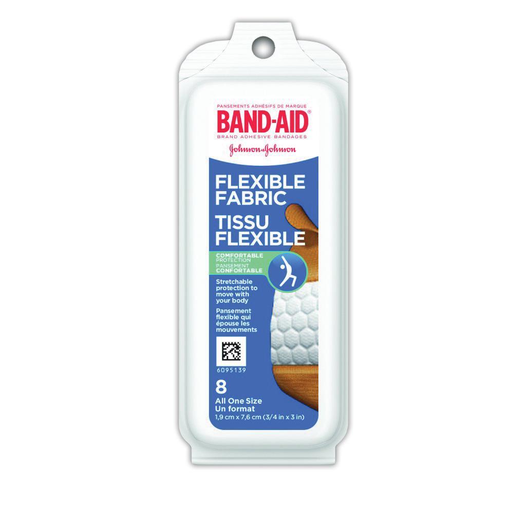 BAND-AID Flexible Fabric Bandages
