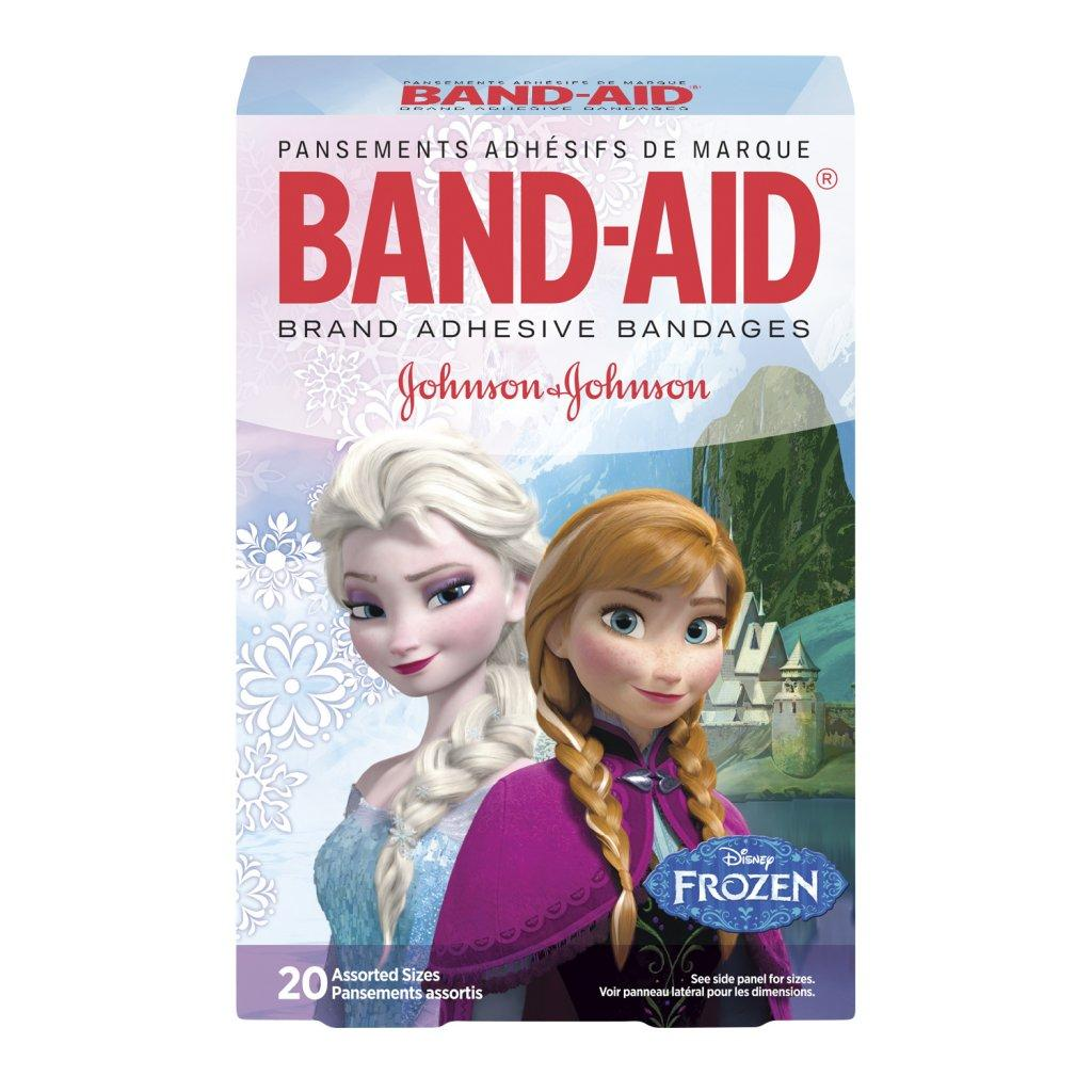 BAND-AID Disney Frozen Adhesive Bandages in Assorted Sizes