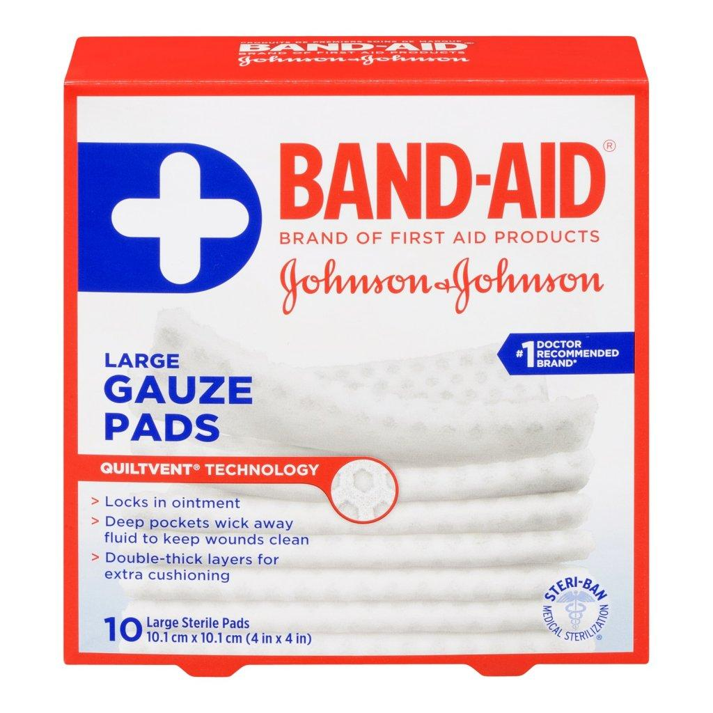 BAND-AID Gauze Pads Large Size