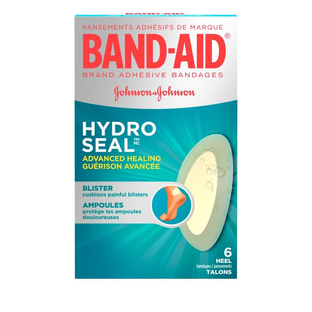 BAND-AID Hydro Seal Heel and Toe Bandages