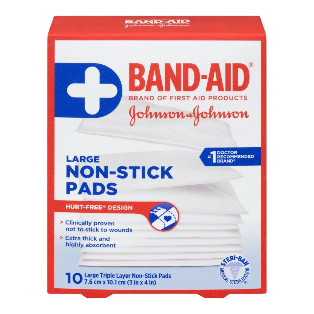 BAND-AID Hurt Free Large Non-Stick Pads
