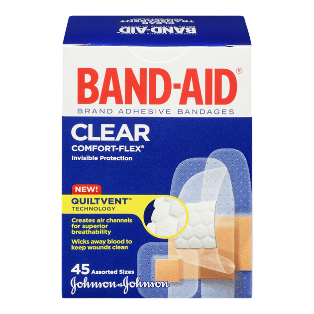 Clear, All One Size Bandages