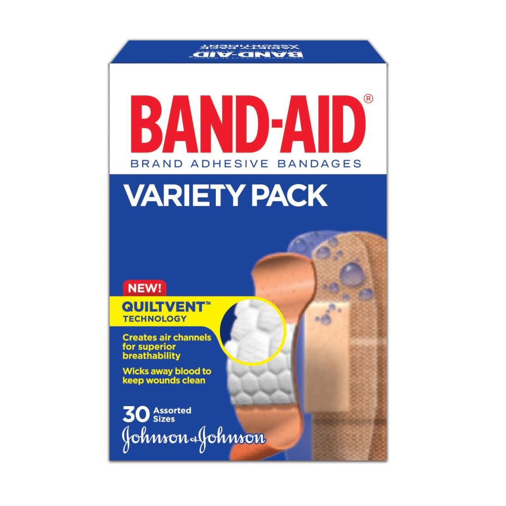 Variety Pack, Assorted, 30 Bandages