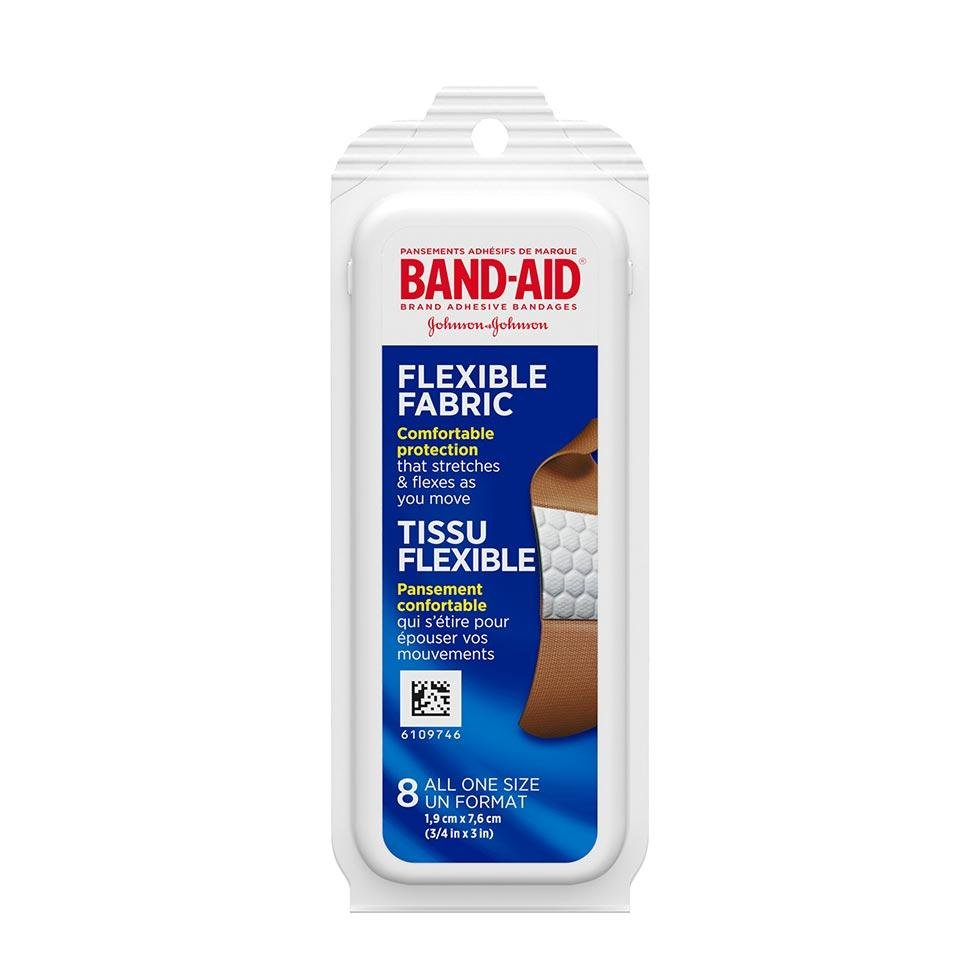 Band-Aid travel pack bandages