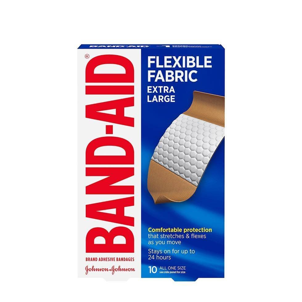 Band-Aid flexible fabric extra large bandage pack
