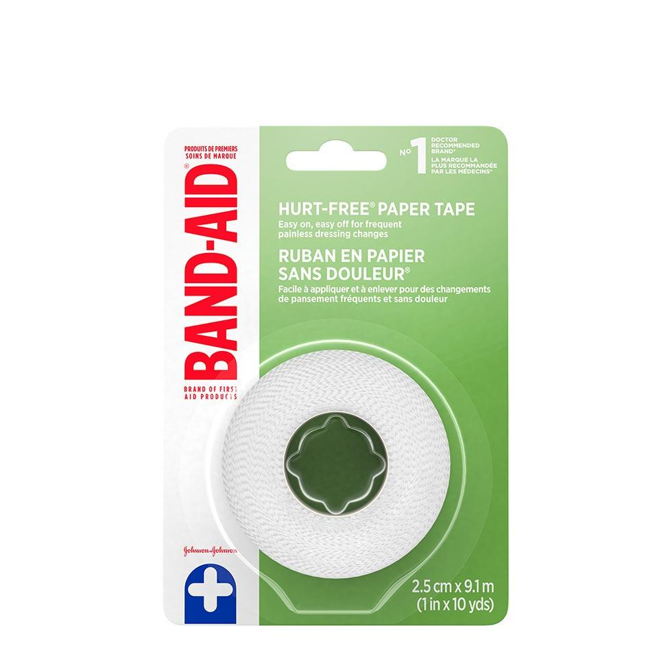 Band-Aid hurt free paper tape pack