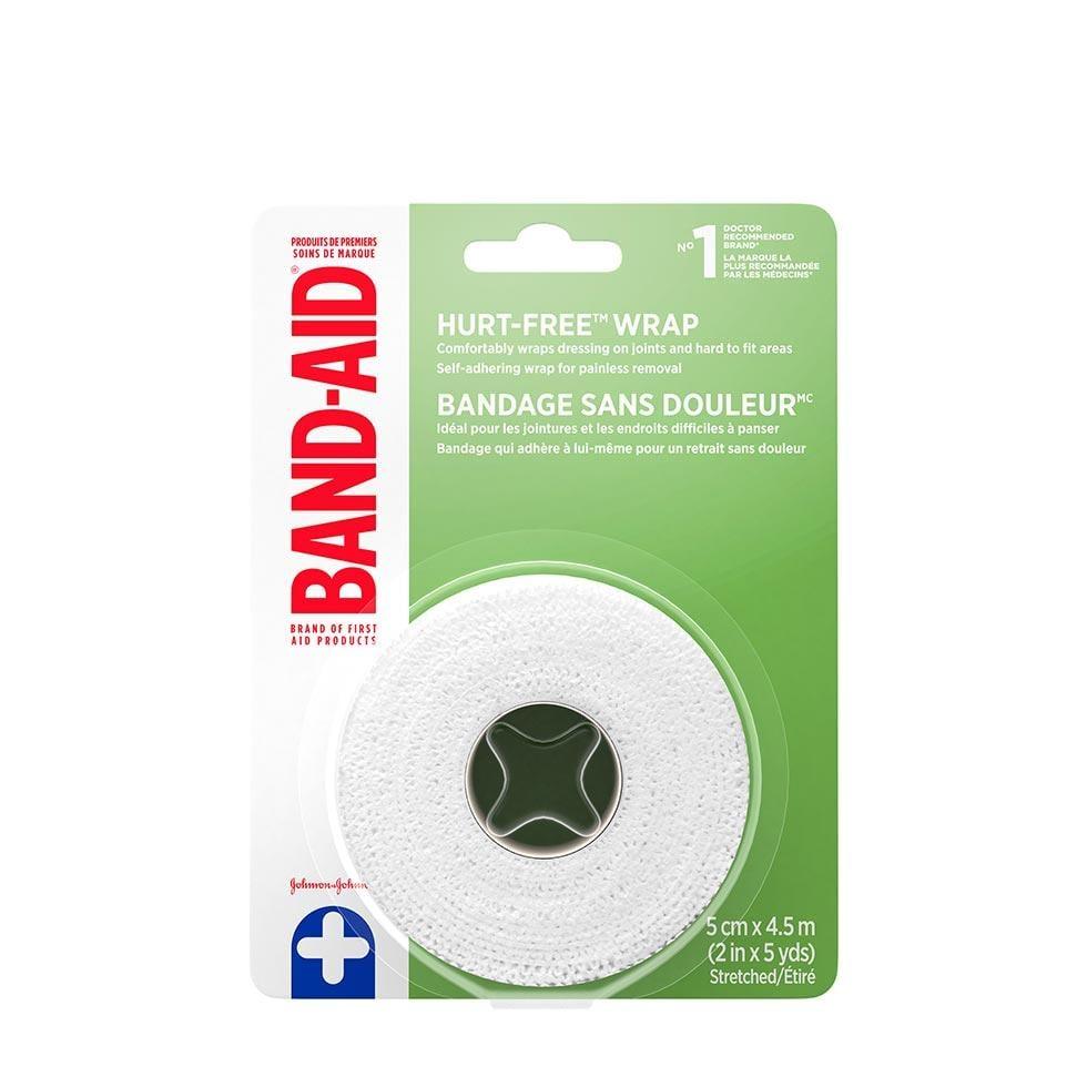 Band-Aid hurt free wrap