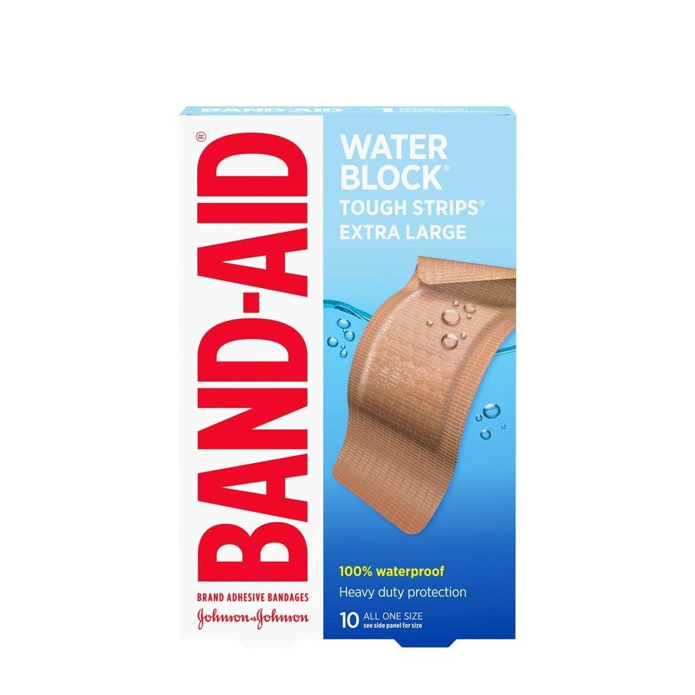 Band-Aid water block extra large bandages