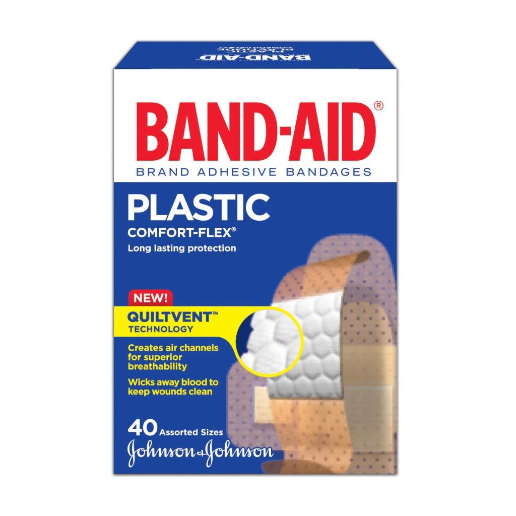 Assorted Family Pack, 40 Bandages