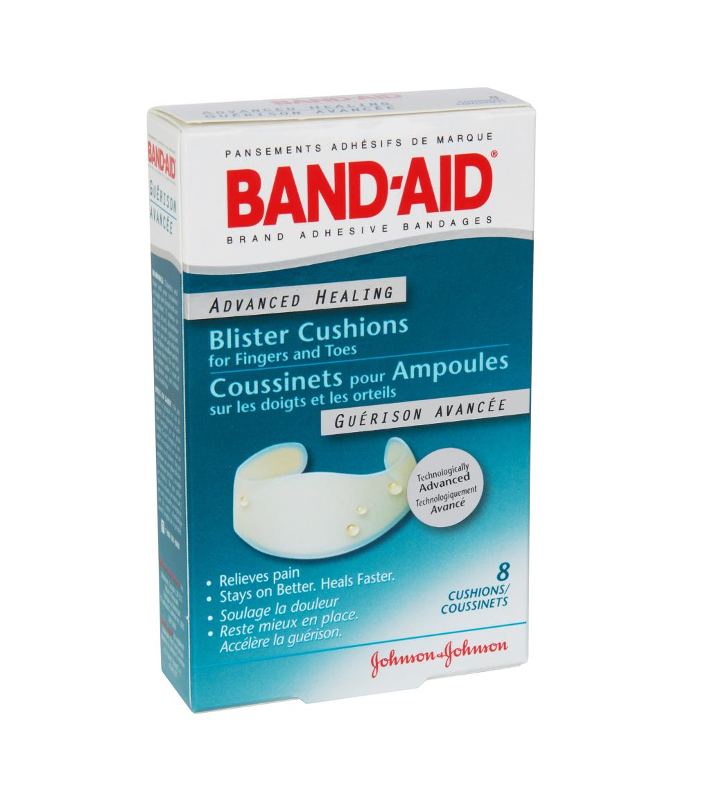 Blister Cushions for Fingers and Toes, 8 Bandages