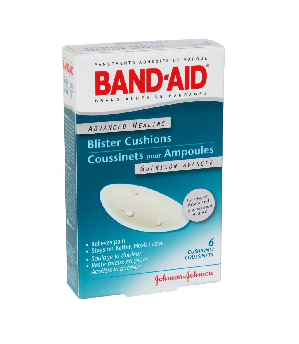 Blister Cushions, 6 Bandages