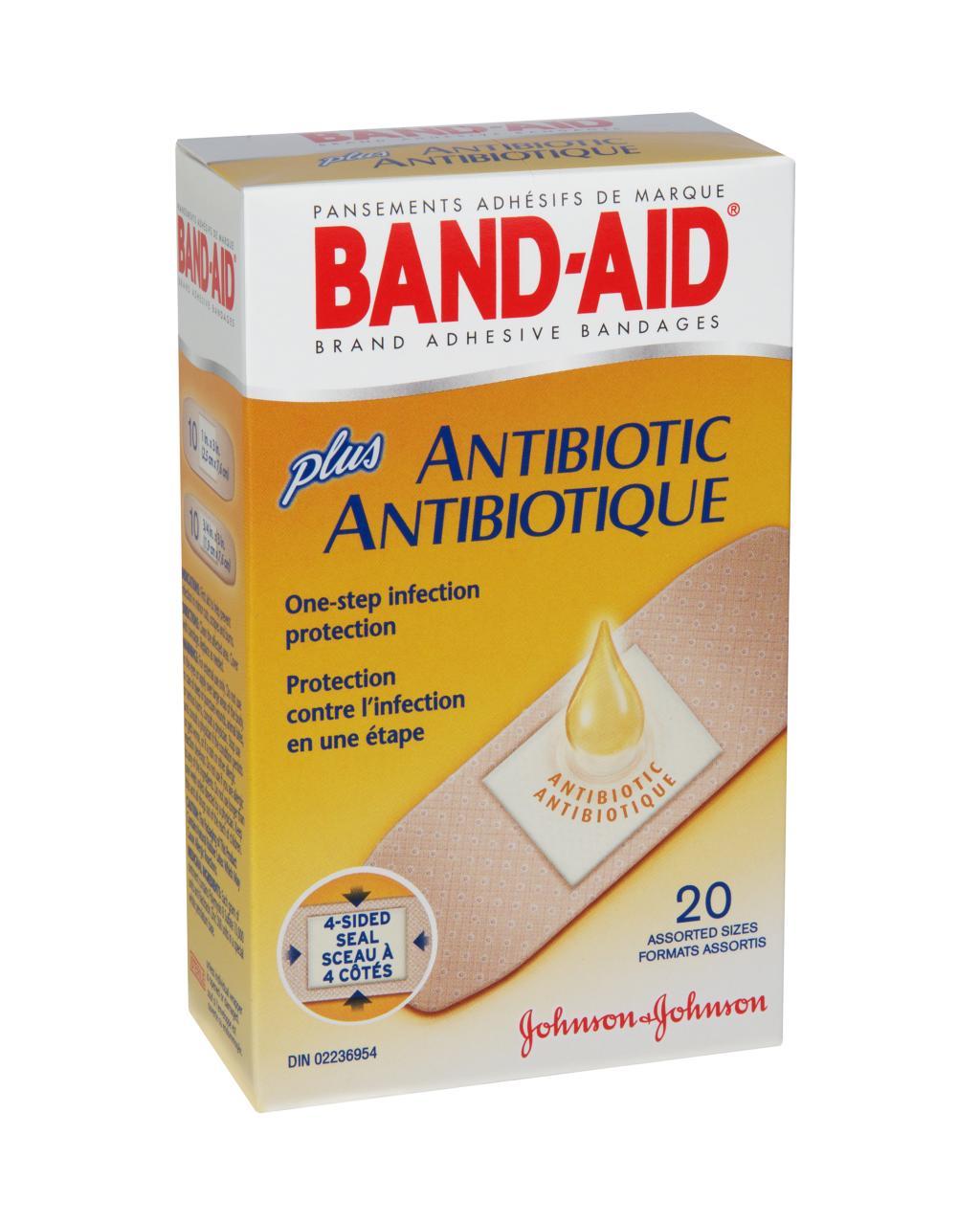 Assorted, 20 Bandages
