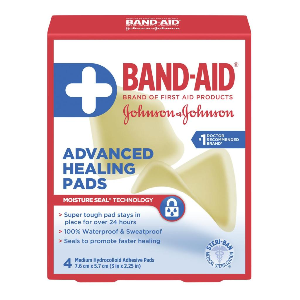 Advanced Healing Pads, 4 Count