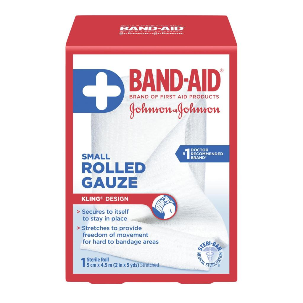 Rolled Gauze, 5 cm by 4.5 m