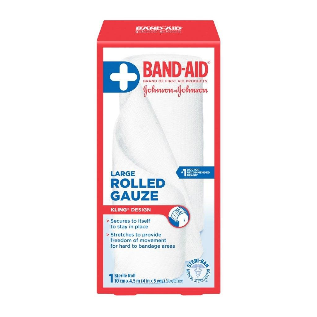 BAND-AID Rolled Gauze Large Roll