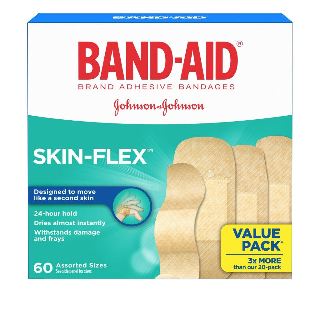 BAND-AID Skin Flex Flexible Adhesive Bandages