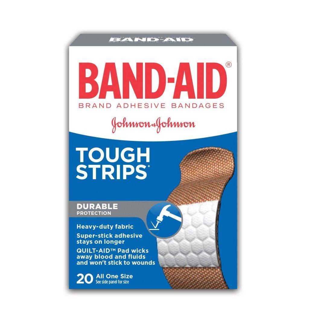 BAND-AID Tough Strips Heavy Duty